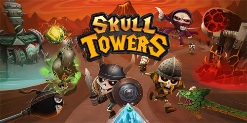 Skull-Towers---Castle-Defense