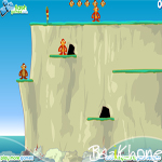 بازی Monkey Cliff Diving