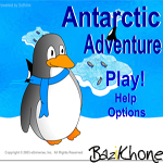 بازی Antarctic adventure