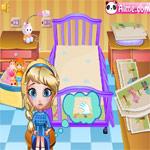 بازی آنلاین خواباندن کودک
