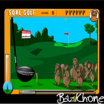 بازی Squirrel Golf